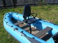 кресло со спинкой на лодку пвх